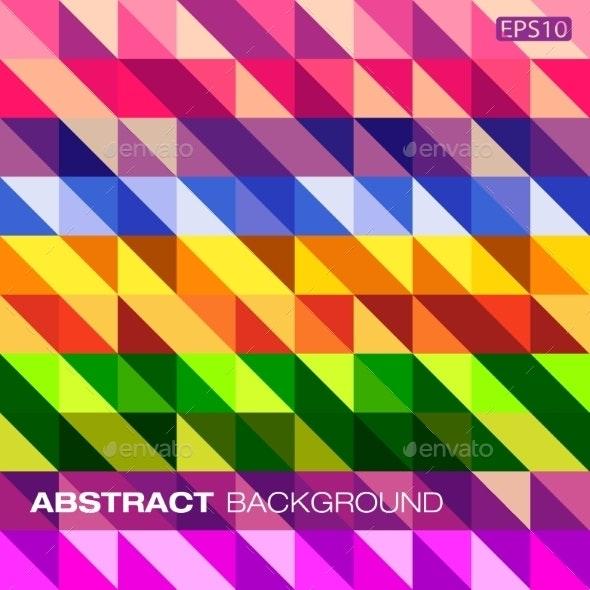 Colorful Geometric Pattern - Miscellaneous Conceptual