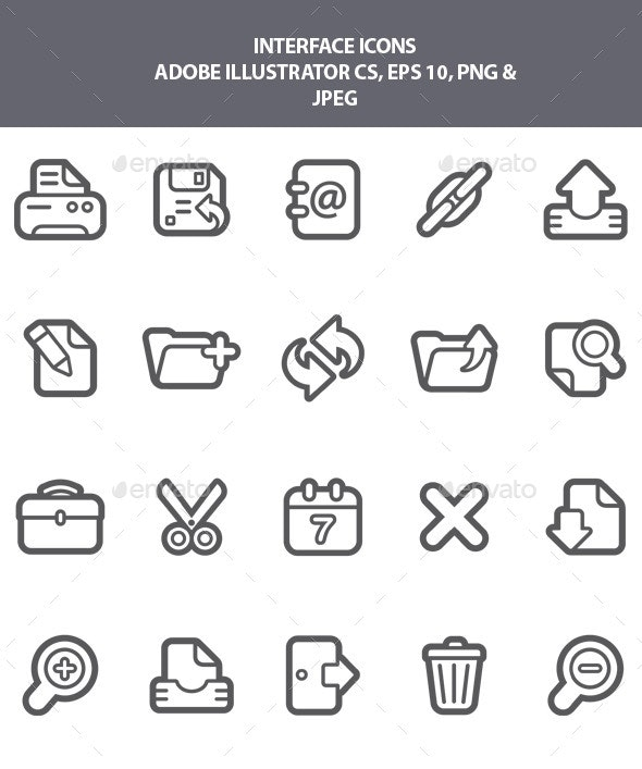 Interface Icons - Software Icons