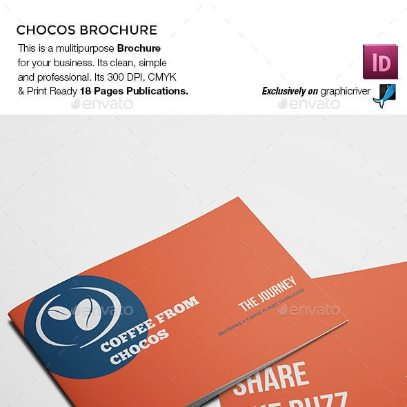 Chocos Landscape Brochure