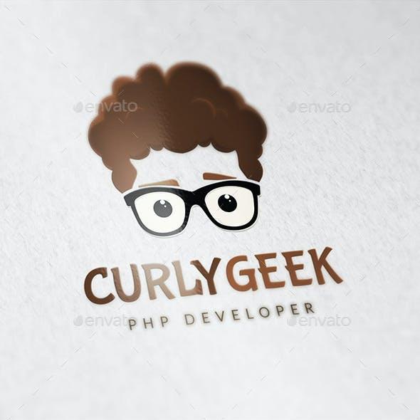 Curly Geek Logo