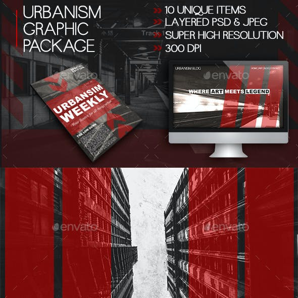 Urbanism Print & Web Graphics Package