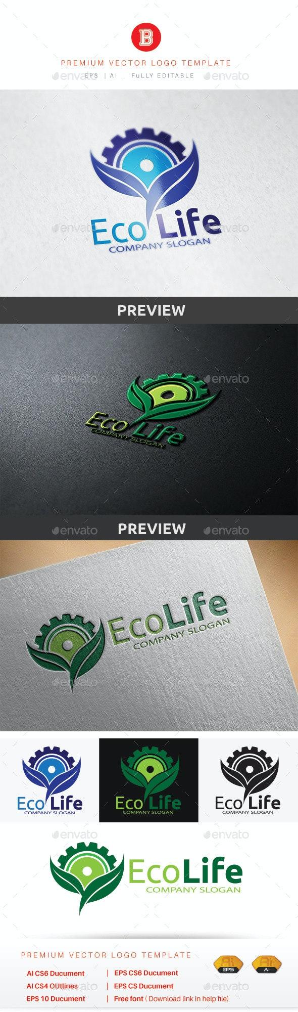 Eco Life - Nature Logo Templates