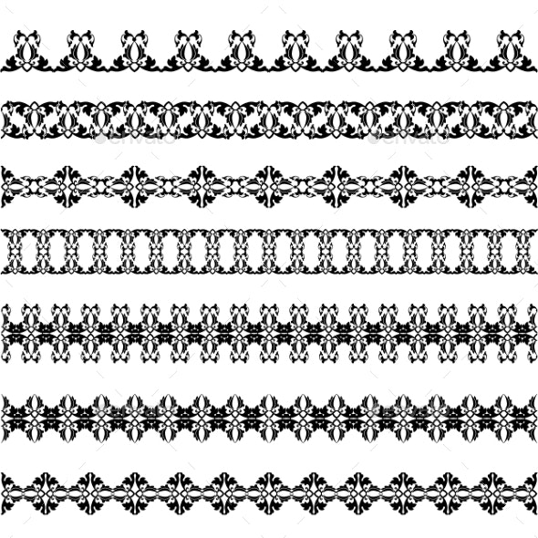 Set Borders - Patterns Decorative