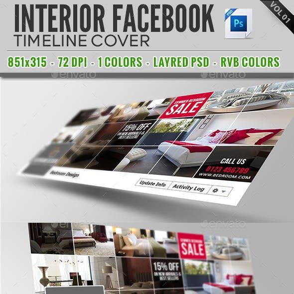 Interior Facebook Timeline Cover Vol 01