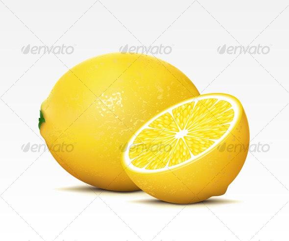 Lemons - Food Objects