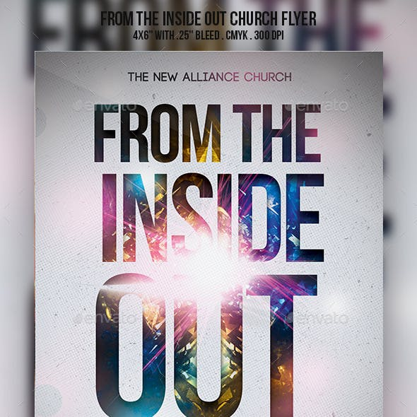 From The Inside Out Church Flyer