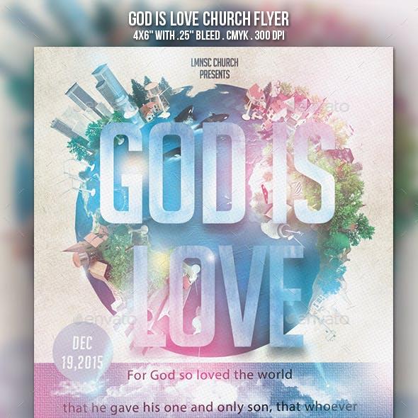 God of this World Church Flyer