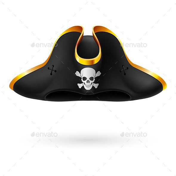 Pirate Hat - People Characters