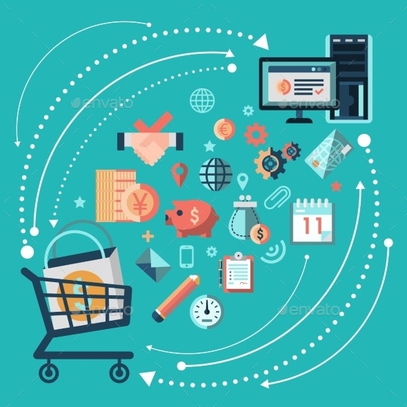 Online Shopping Concept - Concepts Business