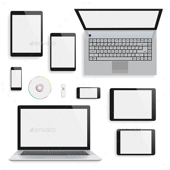 Laptop and Gadgets