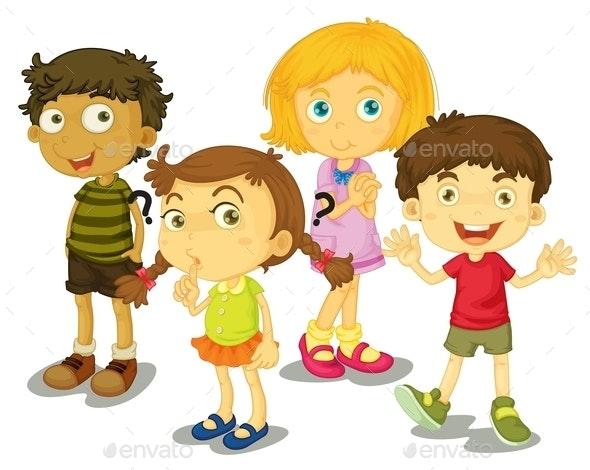 4 Kids - People Characters