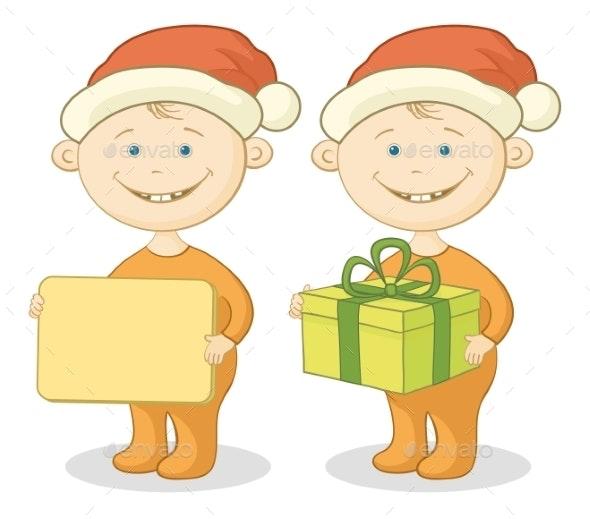 Children Santa Claus - Christmas Seasons/Holidays
