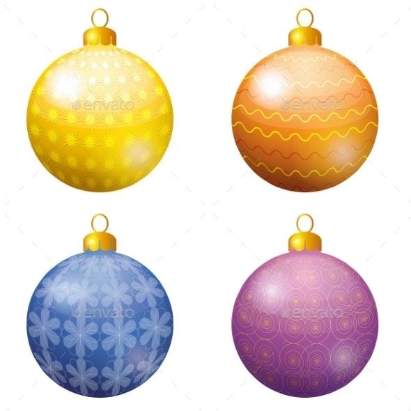 Christmas Decoration Balls - Christmas Seasons/Holidays