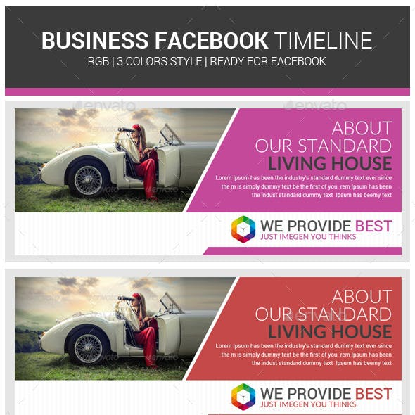 Croporate Business Facebook Timeline