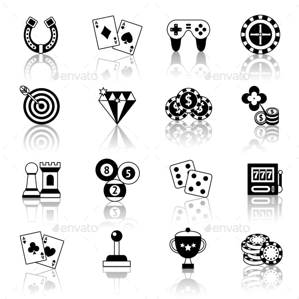 Game Icons Set - Sports/Activity Conceptual