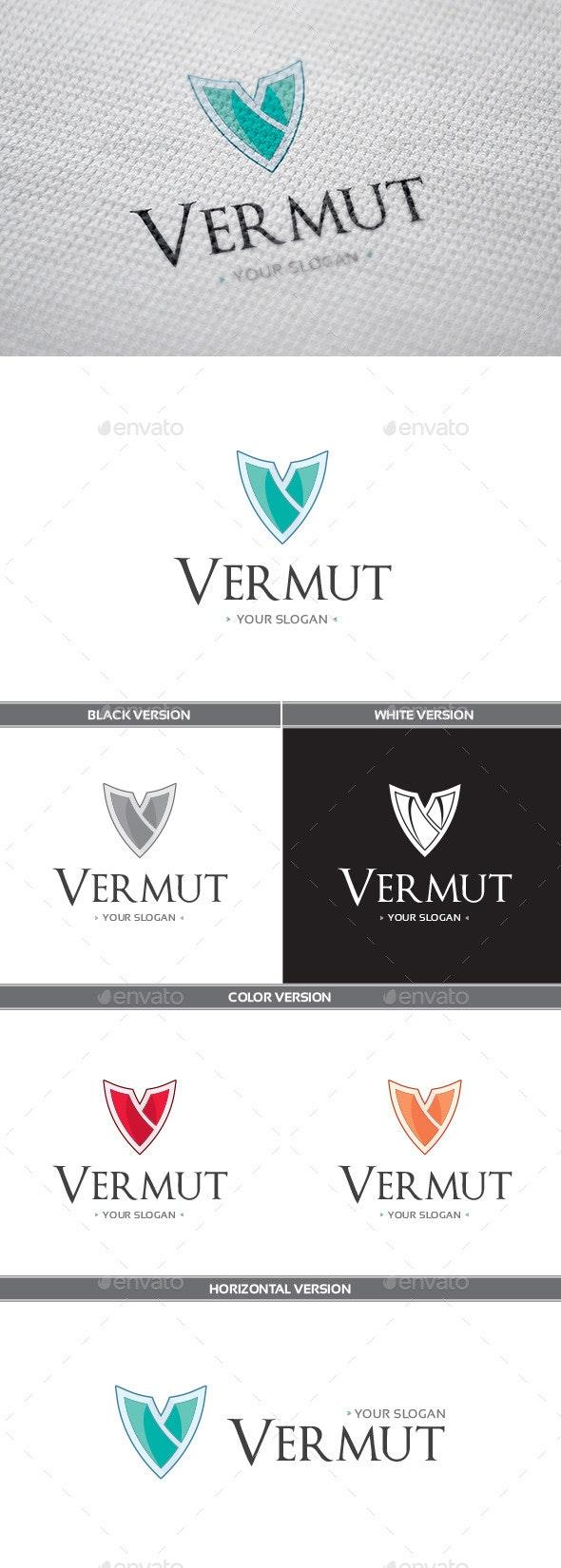 Vermut Logo - Letters Logo Templates