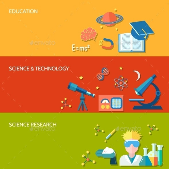 Science and Research Banner - Concepts Business