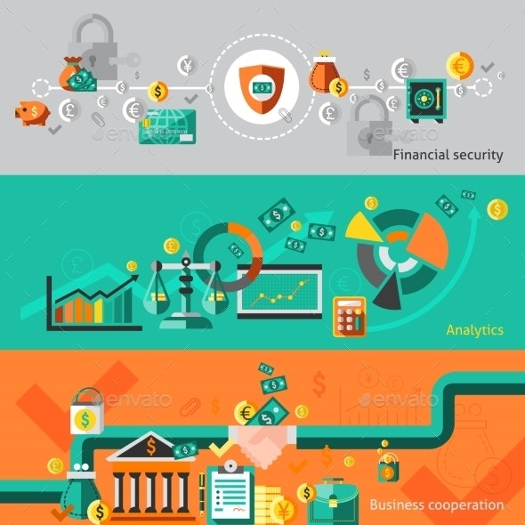 Finance Banner Set - Concepts Business