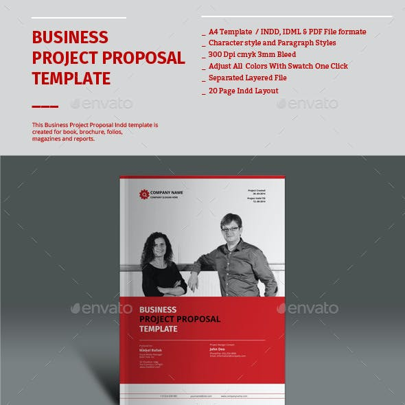 Business Project Proposal Templates