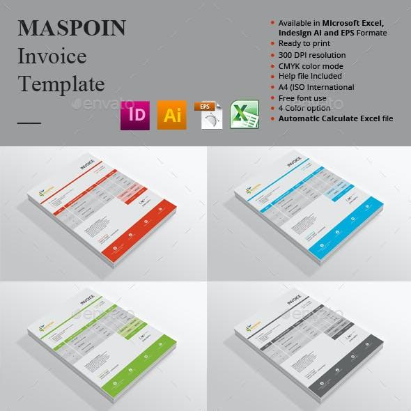 Maspoin Invoice Templates