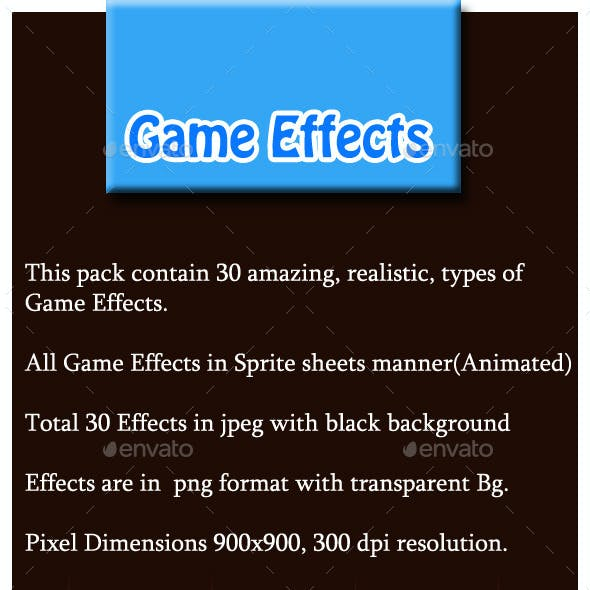30 Game Effects
