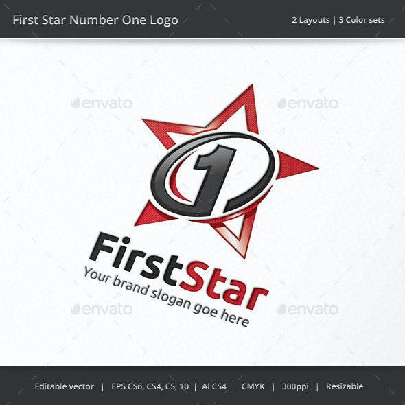 Number One First Star Logo