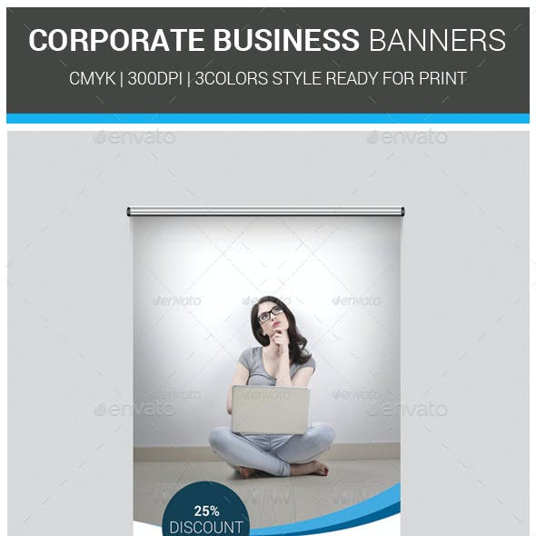 Corporate Business Banners Template