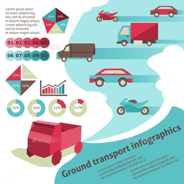 Ground Transport Infographics - Infographics