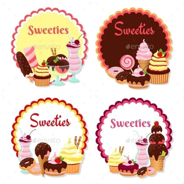 Sweet Badges - Miscellaneous Vectors