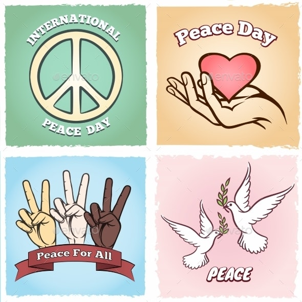 Day of Peace Posters - Miscellaneous Vectors