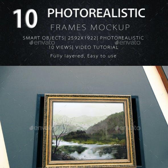 Photorealistic Frame Mock Up Vol.3