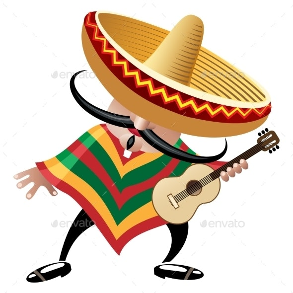 Mexican Musician - People Characters