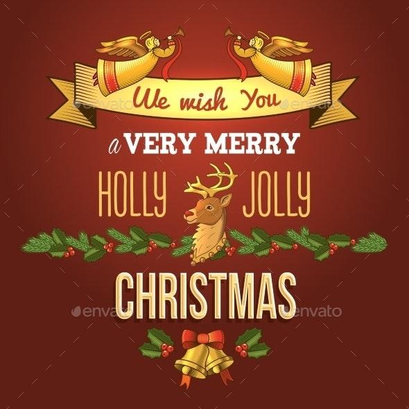 Christmas Ornament Card - Christmas Seasons/Holidays