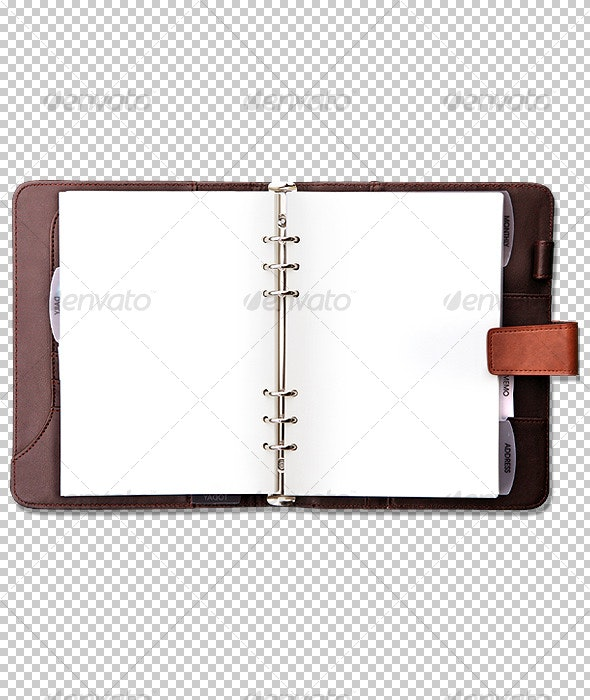 Office Organizer / Diary - Home & Office Isolated Objects