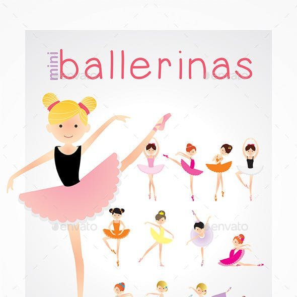 Ballerina Kids Pack