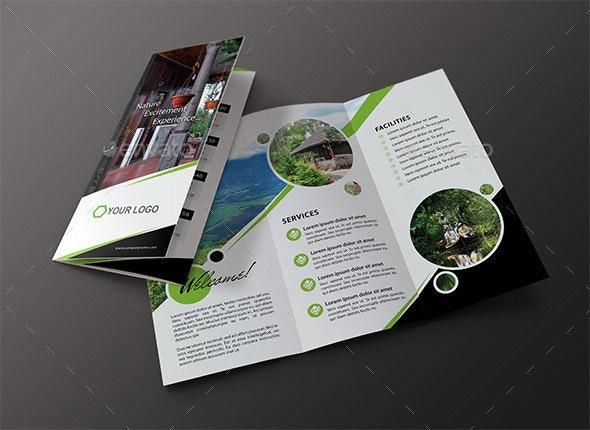 Travel / Hotel Tri Fold Brochure - Brochures Print Templates