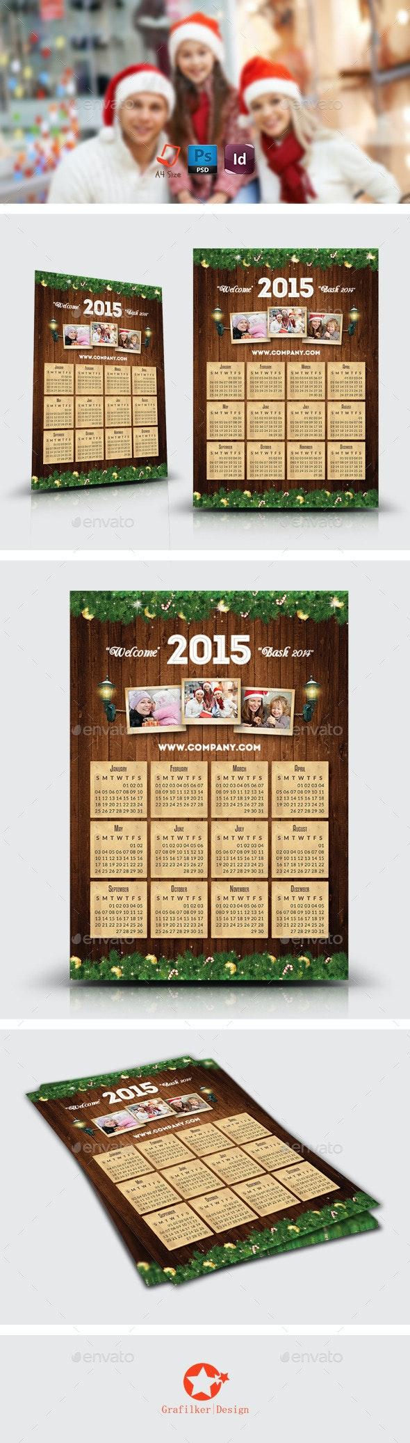Christmas Calendar Templates - Calendars Stationery