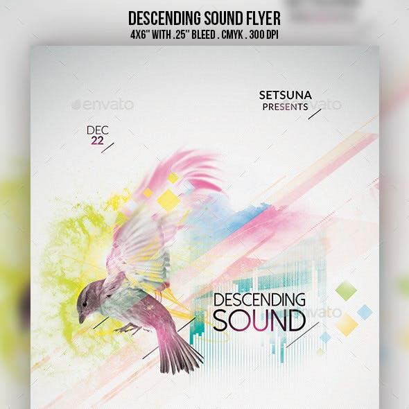 Descending Sound Flyer