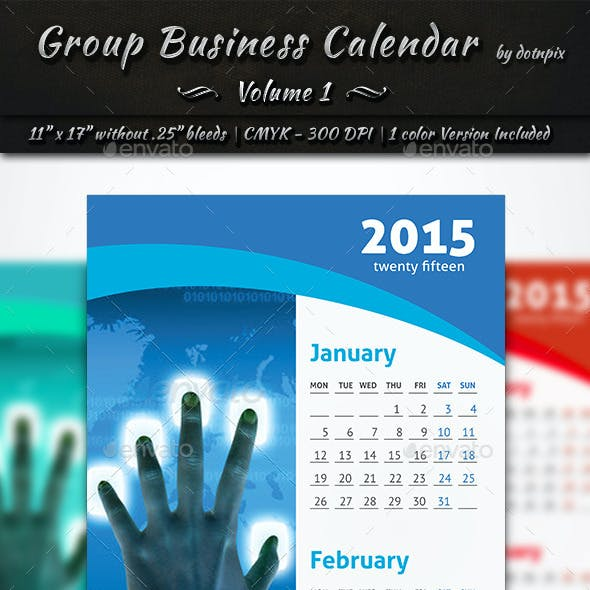 Group Business Calendar