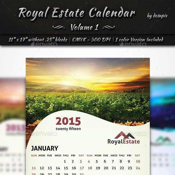 Royal Estate Calendar