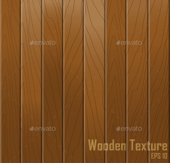 Wooden texture. Vector background. - Backgrounds Decorative