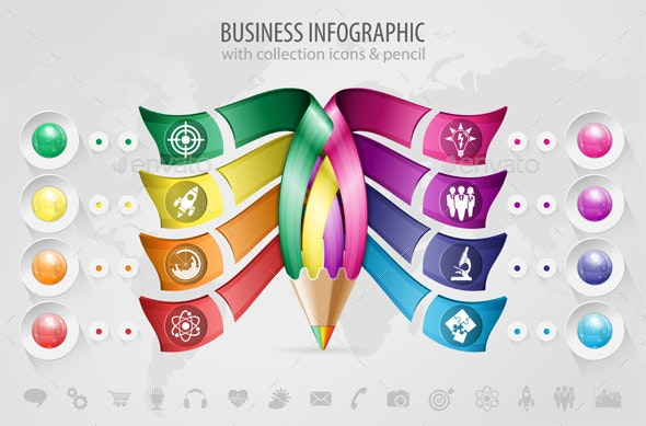 Business Infographic - Concepts Business