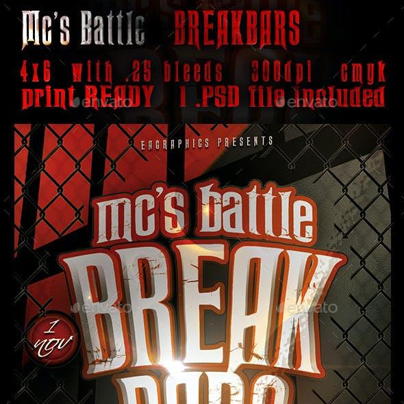 Mc's Battle - BreakBars