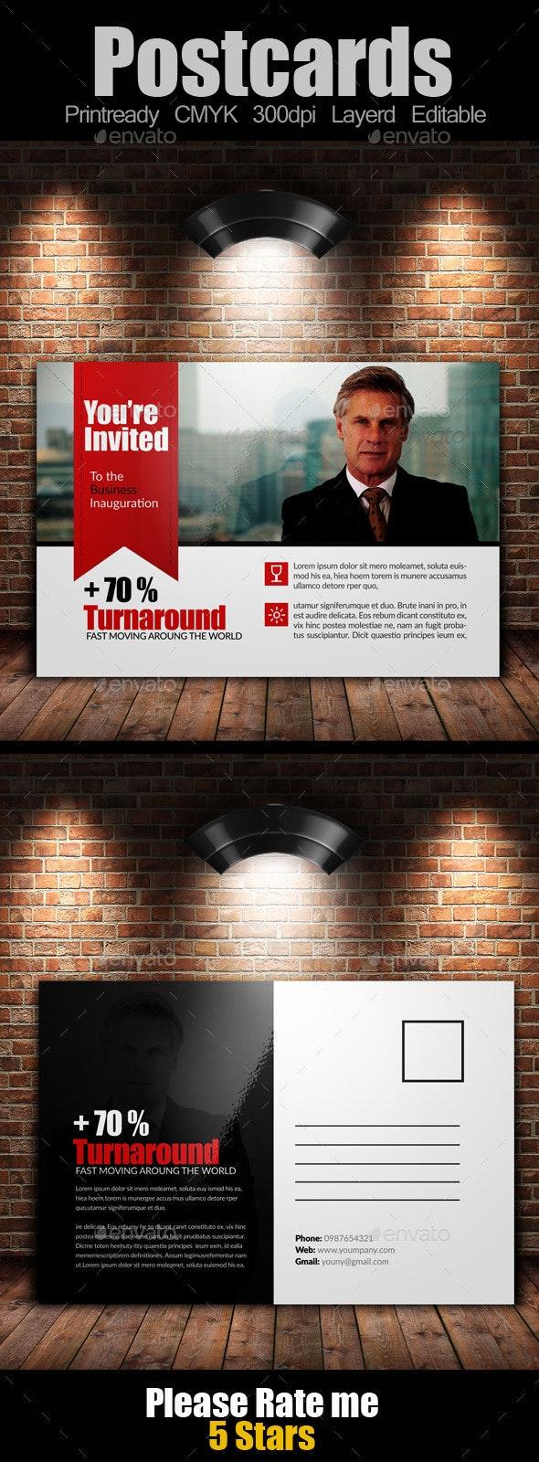 Ultimate Multiuse Business Postcard - Cards & Invites Print Templates