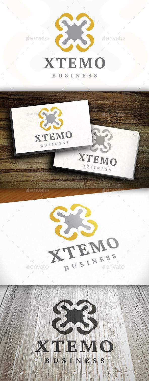 Abstract X Logo - Vector Abstract