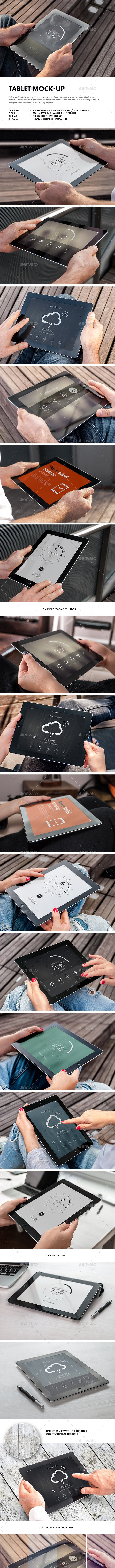 Tablet Mock-up - Mobile Displays