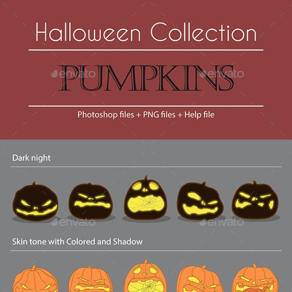 Halloween Collection - Pumpkins