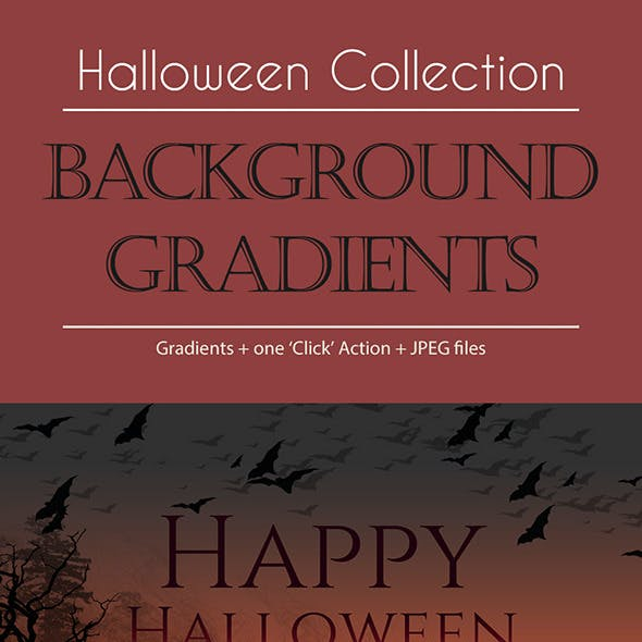 Halloween Collection - Background Gradients