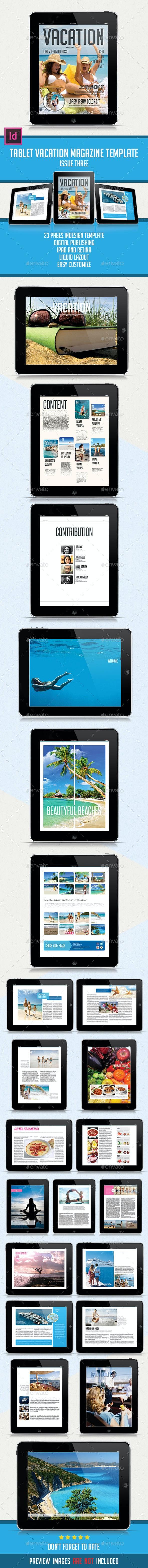Tablet Vacation Magazine Issue Three - Digital Magazines ePublishing