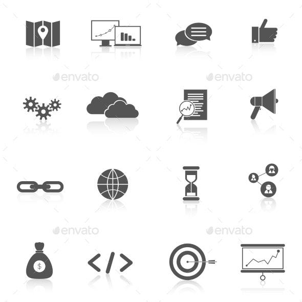 SEO Marketing Set - Web Icons